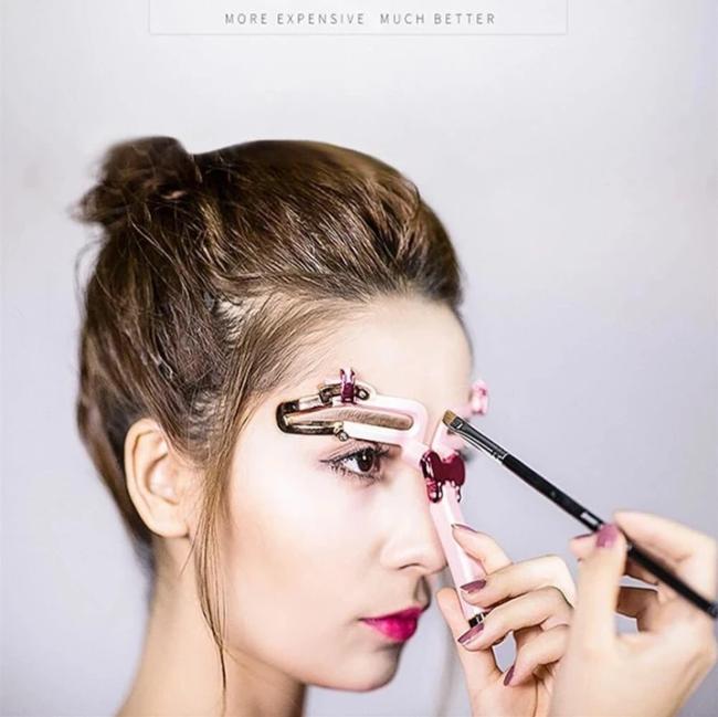Adjustable Eyebrow Shapes Stencil