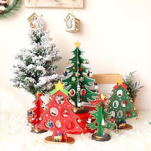 🎅FREE Christmas Hat 🌲3D-DIY Wooden Christmas Tree🌲