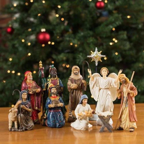 Christmas Pre-Sale - Real Life Nativity Set