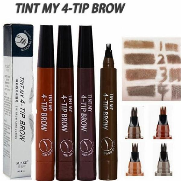 Waterproof Eyebrow 4 TIP Brow Tattoo Pen