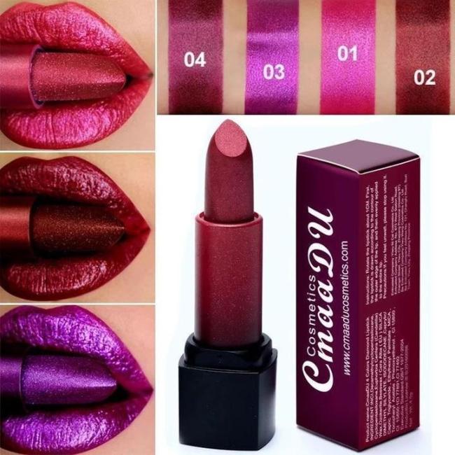 Metallic Waterproof Lasting Lipstick