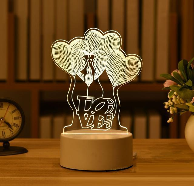 HOME DECOR 3D ILLUSION LAMP