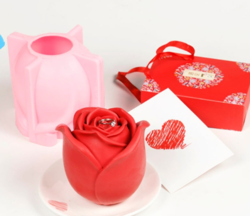 3D Rose Cake Mold-Perfect