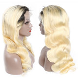 Body Wave Wig Glueless Lace Front Human Hair Wigs for Black Women