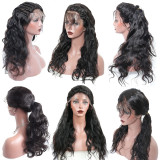 Brazilian Body Wave full Lace Frontal Wigs with minimal shedding
