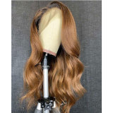 Brazilian Body Wave Remy Hair Lace Wigs 150% Density