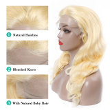 ReadyWig 613 Honey Blonde Body Wave Human Hair Lace Front