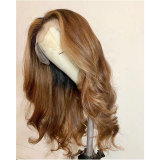 Ombre Color 13*4 wavy lace front wig for women