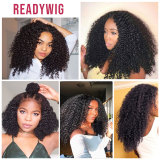 Afro Kinky Curly Wig 13x4 Lace Front Human Hair Wig for women