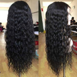 100% human hair with babyhairs and natural hairline