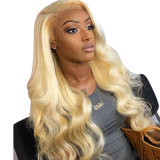 13x6 613 Honey Blonde Preplucked Brazilian Wig with baby hairs