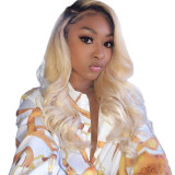 ReadyWig 613 Honey Blonde Body Wave Human Hair Lace Front Wig - Customized