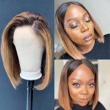 remy hair pre-plucked huaman hair lace wigs with natural hairline