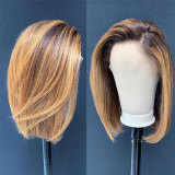 pretty human hair wigs with soft hair and perfect density