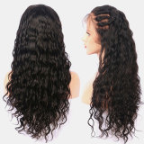 black Lace Front Wig Brazilian Straight hair 150% Density