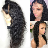 Transparent HD Lace Front Human Hair Wig Remy hair