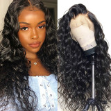 Brazilian human hair Loose Wave Lace Front Wig 180% Density