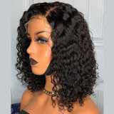 Straight Black Color 13X6 Lace Front Hair Wigs With Baby Hair
