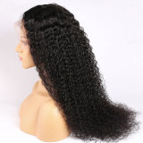 long black curly human hair lace front wigs on sale