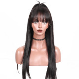 13x6 Straight Human remy Hair with  pre-plucked hairline and baby hairs