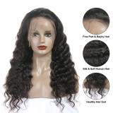 full lace 100% human hair lace front wig with minimal shedding