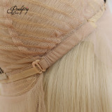 613 blonde Synthetic Wigs Heat Resistant Wigs for Women  Natural Looking Free Parting Hairline Fashion Looking Wigs