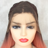 13*4 lace front syntehtic wig with minimal shedding and tangling