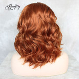 Best Swiss Lace Wig with preplucked baby hair colorful wig with good looking