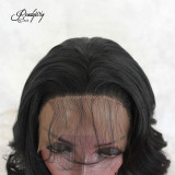 Lace Front Wigs Glueless Short Short Human Hair Wigs Wavy With Baby Hair For Black Women