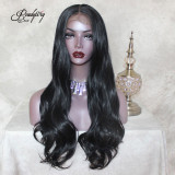 Big Lace part wigs Heat Resistant wavy hair Natural Looking Free Parting Hairline Fashion Looking Wigs