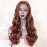 Copper Red Lace Front Wigs for Women
