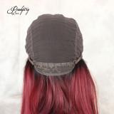 auburn hair color, dark red hair color, burgundy hair