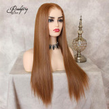 best 13x6 synthetic lace front wig with heat friendly hair fibers