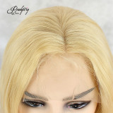 Blonde Body Wave Synthetic Lace Front Wig