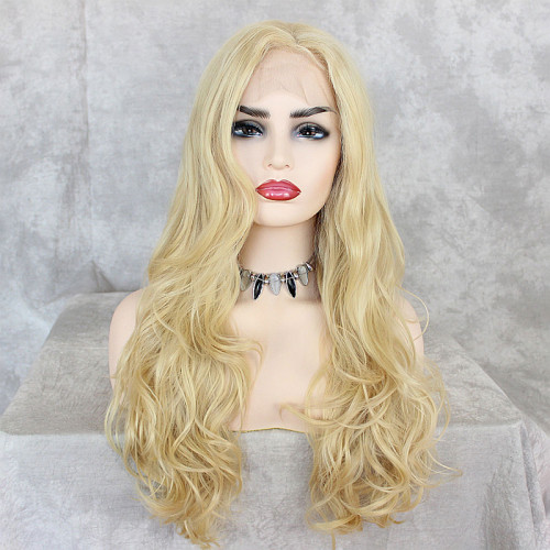 ReadyWig Blonde Body Wave Synthetic Lace Front Wig 24 Inches