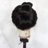 best human hair wigs natural wavy hair wigs with bleached knots 13x4 lace front,13x6 lace front, Free parting Lace Space