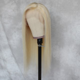 straight hair wig, 100% unprocessed human hair Lace part wig 360 real human hair wigs