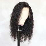 comfortable hair net breathable and durable lace capless wig with secure combs swiss lace front wig