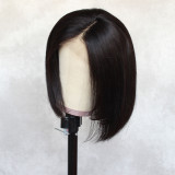 jerry curly short hair wig, 100% unprocessed human hair Lace part wig 360 deep part swiss lace wigs