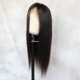adjustable hair net breathable and durable lace capless wig with secure combs brown lace frontal wig