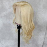 adjustable hair net breathable and durable lace capless wig with secure combs swiss lace front wig