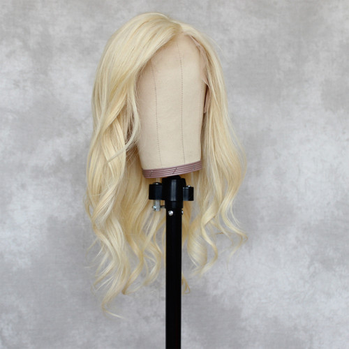 ReadyWig 613 Blonde Body Wave Human Hair Lace Wig 16 Inches