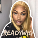 honey blonde hair, blonde hair Synthetic Lace Front Wigs
