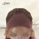 purple lace wig for black women