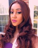 ReadyWig  Copper Red Wavy Synthetic Lace Front Wig 24 Inches