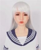 Sanhui Doll ラブドール 145cm Aカップ Yuki お口開閉可能 フルシリコン製