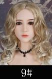 WM Doll ラブドール 人気ヘッド #153 ボディ選択可能 組み合わせ自由 ゼリー胸選択可 TPE製