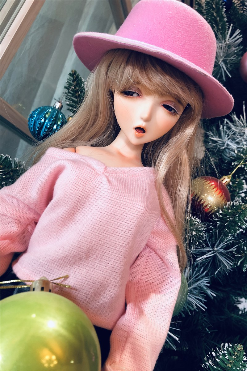 Mini Doll ミニドール セックス可能 58cm普通乳 BJD M1ヘッド 53cm-75cm身長選択可能