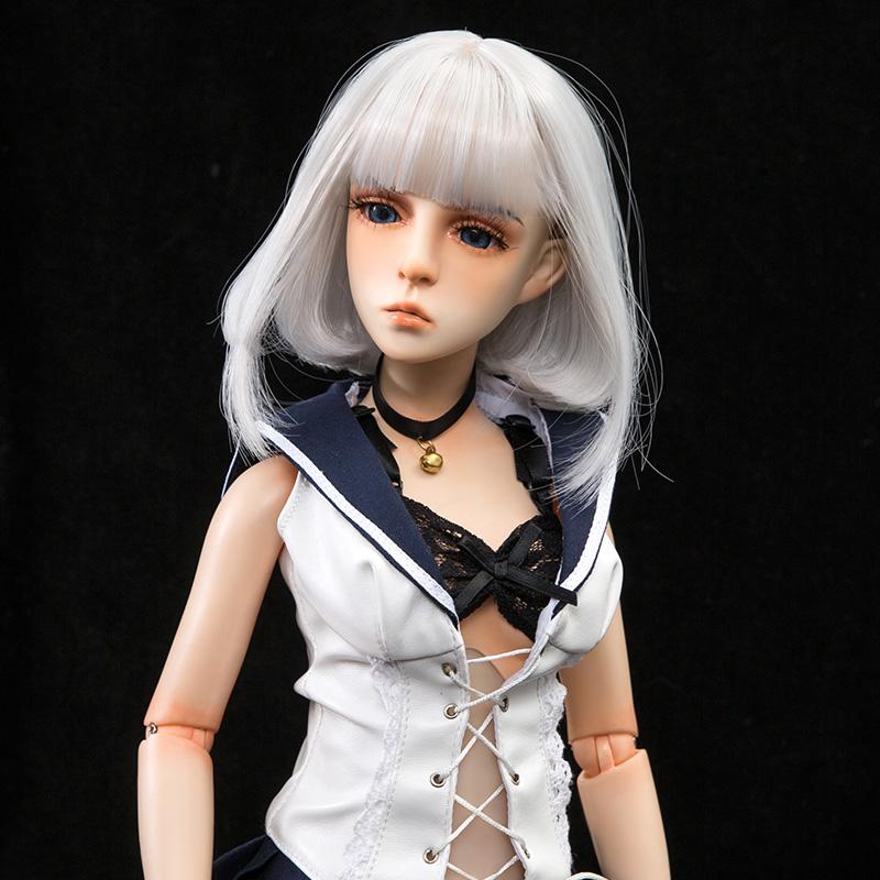 Mini Doll ミニドール セックス可能 58cm普通乳 BJD M4ヘッド 53cm-75cm身長選択可能