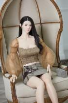 BB Doll ラブドール  160cm普通乳 Lily 血管&人肌模様など超リアルメイク無料 眉の植毛無料 フルシリコン製